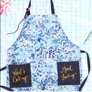 Lilly Pulitzer GWP grilling apron